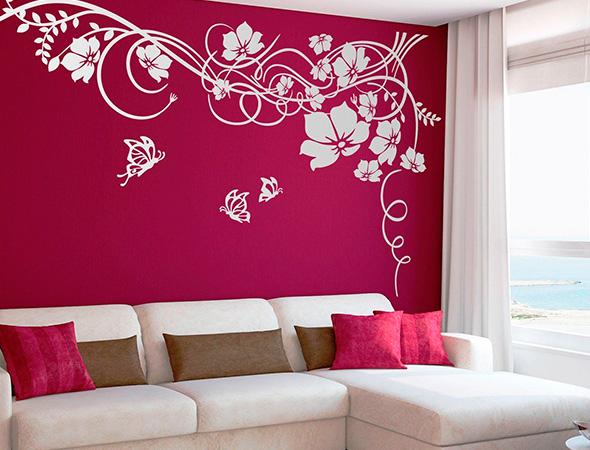Adhesivos en la decoración de interiores