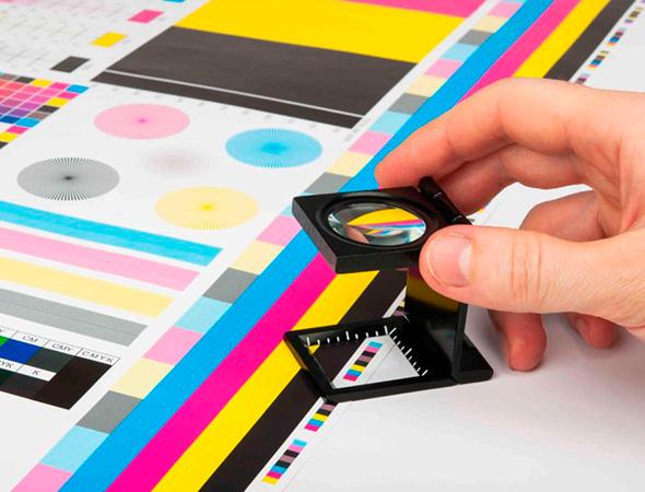 Las funciones de la impresión a color.